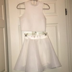 A two piece party outfit